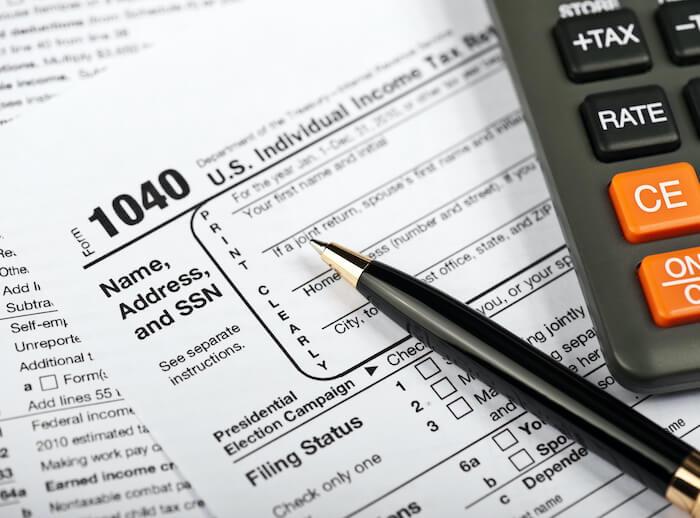 تقديم الضرائب