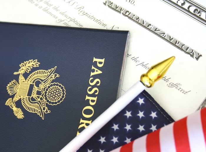 الجنسية الامريكية للاطفال